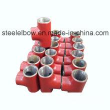 Tee ajuste / acero de tubería de acero de carbono