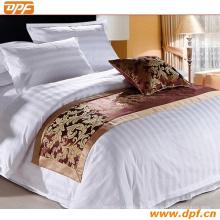 100% poliéster personalizada bufanda cama de hotel (DPF2661)