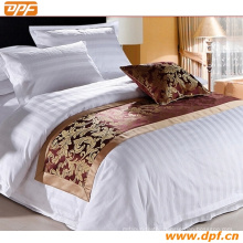 100% Polyester Customized Hotel Bed Scarf (DPF2661)