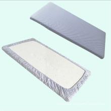Full Size Organic Cotton Crib Sheet, Baby Bed Sheet,Gray Chevron