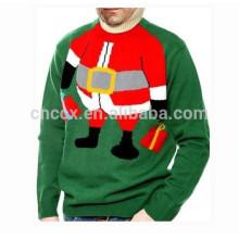 15CSU058 2017 neue Mode hässliche Weihnachtsstrickjacke