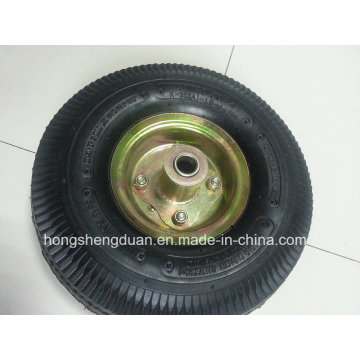 Professional Manufacturer 4.10/350-4 Wheelbarrow Pneumatic Wheel Rubber Wheel