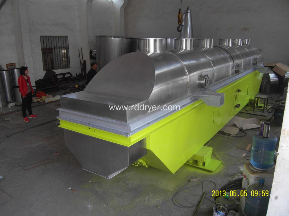 High Efficiency Vibro Fluidized Bed Drying Machine