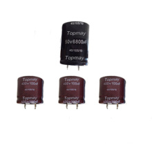 Snap in Aluminum Electrolytic Capacitor 105c Tmce18-17