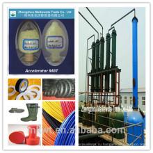 Химикаты для резины MBT для резиновой промышленности