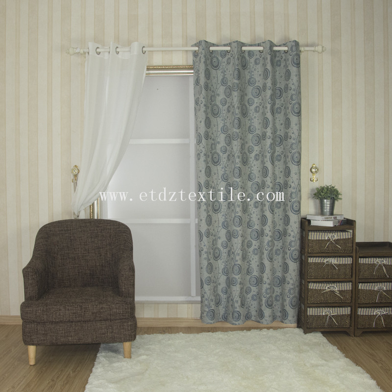 Customerized curtain fabric 6021#