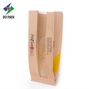 Kraftpapiertüte zum Verpacken von Brot