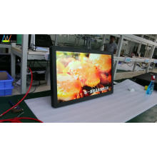 high brightness 47 inch full HD LED LCD display advertising monitor with touch screen