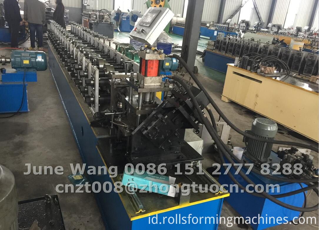 door frame making machine for Argentina9-