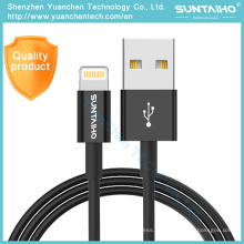 Cable USB de datos de carga rápida certificado Mfi original para iPhone 7 Plus 6 6s Plus 5 5s Se