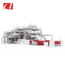 CL-SMMSS PP Spunbond Meltblown Composite Nonwoven Fabric Making Production Line For wet tissue