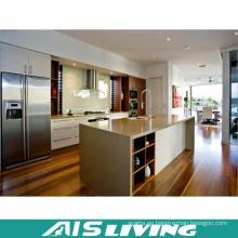 Gabinetes de cocina modulares modernos de encargo al por mayor de China de la fábrica (AIS-K983)