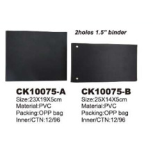 Double Side PVC Bank File Ring Binder