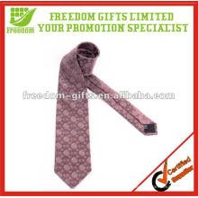 Laço tecido 100% seda gravatas impressas forma dos homens da forma do laço