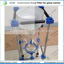 Pour Type Vacuum sintered glass Filter 100L for sale
