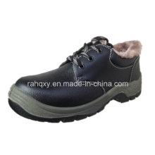 Split geprägtes Leder Sicherheit Schuhe Low-Cut-Knöchel (HQ05070)