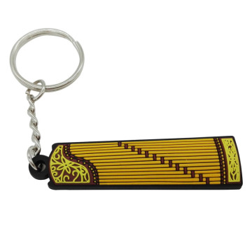 Personalized Music Instrument PVC Key Rings