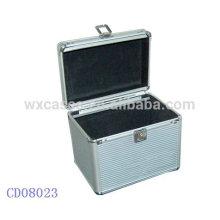 caixa CD alumínio de discos de CD 100 de prata atacado fabricante, China