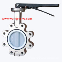 PFA Lining Stainless Steel Lug Valve