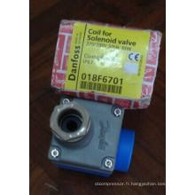 Bobine de valve électromagnétique de réfrigération de Danfoss (018F6701)