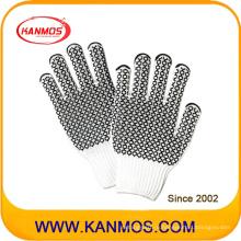 Промышленная безопасность трикотажные противоскользящие хлопчатобумажные рабочие перчатки (61007TC)
