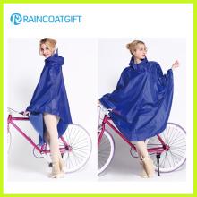 100% Polyester Fahrrad Regenmantel Rpy-034