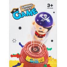 Juguetes de juguete de plástico jumping piratas barriles de juguete