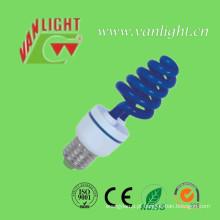 T3 cor lâmpada azul (VLC-CLR-XT-série-B) de lâmpada de poupança de energia