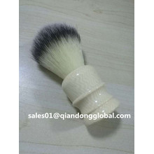 Resin Handle Synthetic Hair Shaving Brush