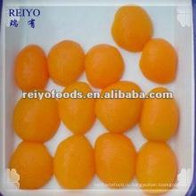 Консервированные абрикосы в легком сиропе