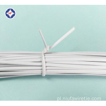 Round Plastic Twist Tie for USB Cable Binding