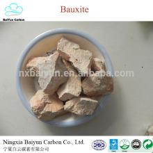 Différent vendre minerai de bauxite grade 60-88% Al2O3 calciné bauxite prix