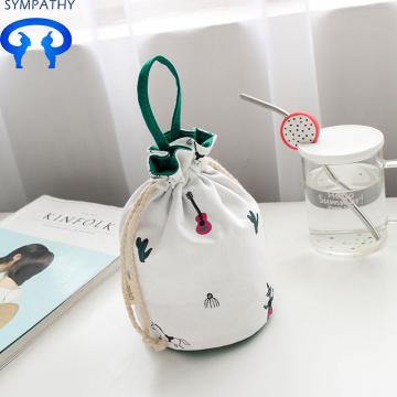 Custom mini coin pocket receive cloth bag