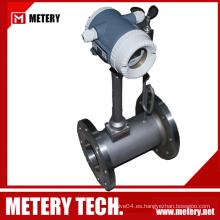 Medidor de flujo de vórtice de vapor sobrecalentado Metery Tech.China