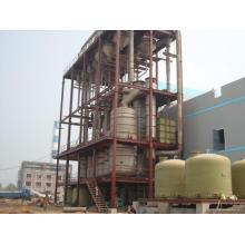 Evaporador de cristalização contínua para lixo de fermento
