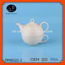 Фарфоровый чай для одного комплекта, чайный горшок с чашкой, керамический чайник и чашка, керамический чайный набор оптом