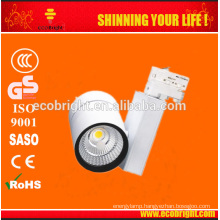 3 years warranty High CRI dimmable 10w/30w/50w led track light