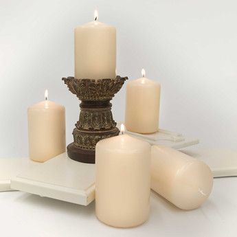 wholesale long burning time scented pillar votive candles