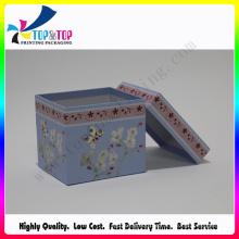 Caixa de embalagem de presente de papel colorido para o Natal