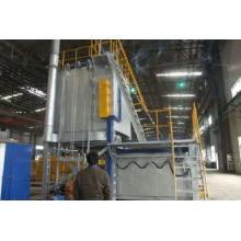 Fornalha de tratamento térmico de têmpera de liga de alumínio