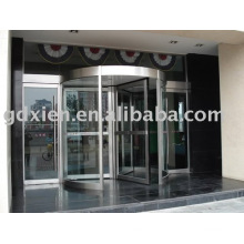 Supply 3-4 wings automatic revolving door CN-R306