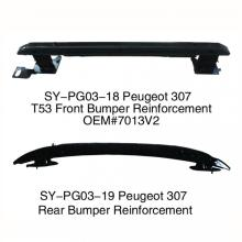 front bumper reinforcement For Peugeot 206