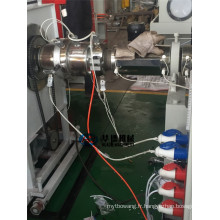 Ligne d'extrusion de tuyaux renforcée en spirale de carbone PE