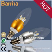 lámparas de 2013 super brillante led vela E14