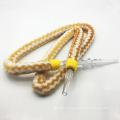 1.8m Yellow Striped Fur Design Acrylic Hookah Shisha Hose Pipe (ES-HH-006)