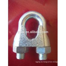 Clip de cuerda de alambre DIN741 galvanizado