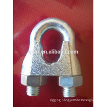 Electro galvanized DIN741 wire rope clip