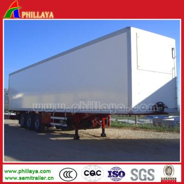 30-50 Tonnen Dreiachs Container Semi Trailer Box Trocken Van Truck