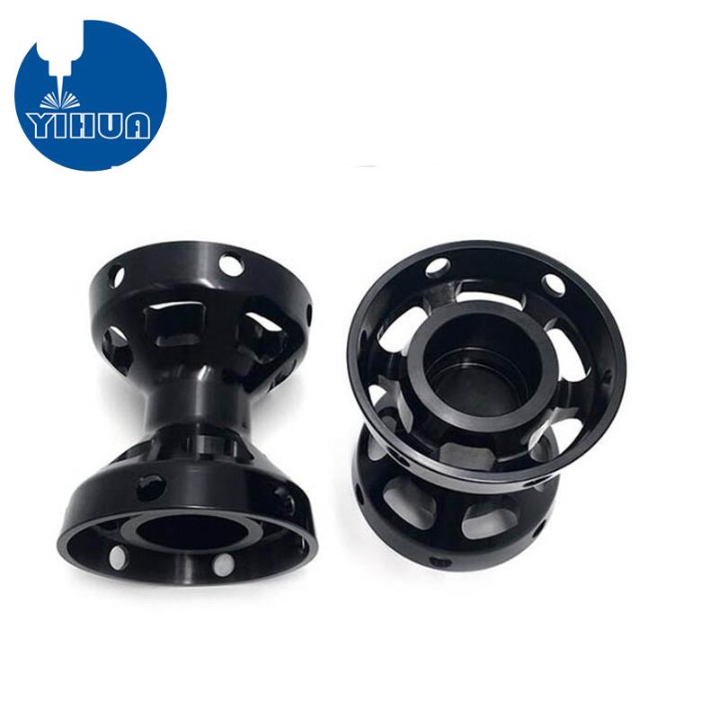 Black Anodized Automotive Parts