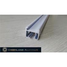 Perfil de alumínio para revestimento de pó branco para faixa de cortina motorizada